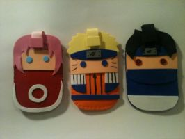Naruto Colection Mobile Cases by anapeig