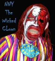 NNY the Wicked Clown by dragonhuntr