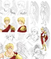 Angel design - Michael (commission) by Precia-T