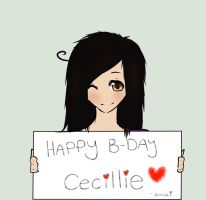 HBD CILLE by iSushiiii