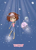 Hello, Jellyfishes by happy-loner