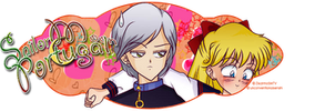Minako and Yaten Banner by FullScubb
