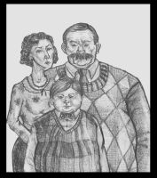 The Dursleys by crittercat