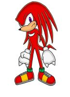 Knuckles The Echidna by Knuckles5000