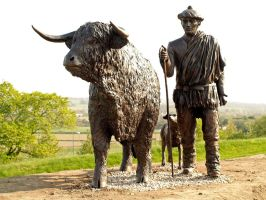 Highland Drover by piglet365