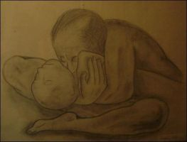 Mother and Dead Child by emokidamber