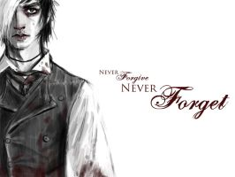 Never Forgive, Never Forget by XsilverleenX