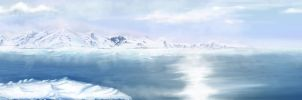 Ice Mountains by 3dmetrius
