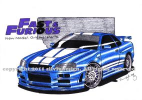 FastAndFurious4 Skyline by stigspeed60