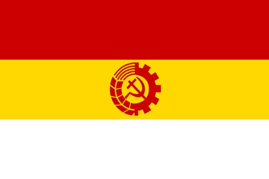 Union Of Orthodox Socialist Republics Flag by Sergios117