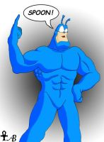The Tick by BlackAnkhFanArt