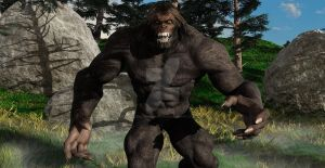 BigFoot Legend of North America  by TeddyBlackBear2040