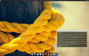 Linux desktop 25-09-2011 by EternalKernel