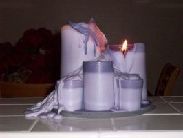 melted candles by mrs-isabella-cullen