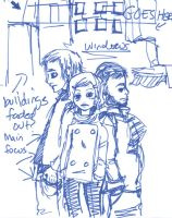 Positively 4th Street sketch by QuestionofBalance