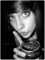 Shh..i stole her nutella by siamois