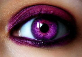 Beautiful Pink EYE IN color by LT-Arts