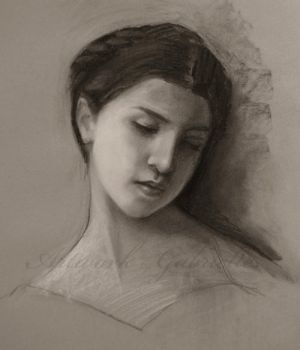 Bouguereau Study by gabbyd70
