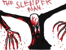 the slender man by thanatos5