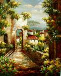 italian oil painting by frenchpastry09