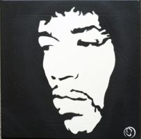 Jimi Hendrix by TomoArt1