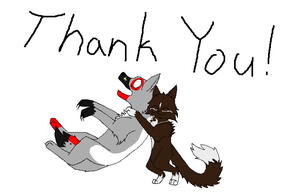THANK YOU by WolfStarr7