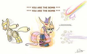 YOU ARE THE BOMB! by AbyssalEmissary