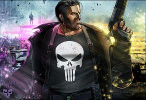 The Punisher by VikArachnid