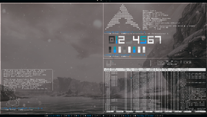 Archlinux ~ Awesome 10/24/13 by ZachSnyder