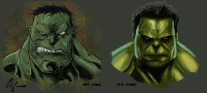 Hulk Study - 2014 Update by torsor