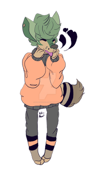 Flat Color for Ivailo on Wolfhome by itsMeowOrNever