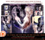 Soul Mate speedpaint voice over lesson .promo. by sakimichan