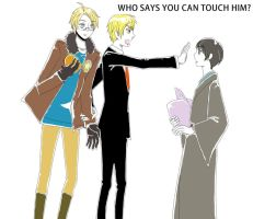 Who says you can touch him by gacon0308