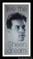Sheen Dream Cross Stitch by black-lupin