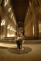 Peterborough cathedral by in-my-viewfinder