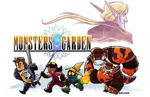 Monster's Garden IX by Kilo-Monster