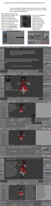 [Tut] How to use MMD Models in Blender Games by The--Giver