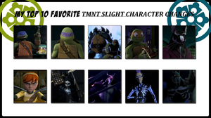 My Top 10 Favorite TMNT Slight Character Changes by 4xEyes1987