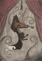 The Musician by FoxInShadow