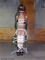 Super Heroine Detained by MCh19681