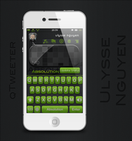 qTweeter skin for Absolution by ulysseleviet