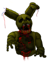 .Springtrap. by knightriderfangirl