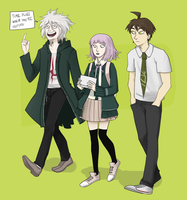 DR: Hinata and friends by Livious