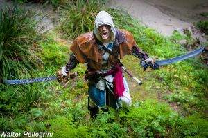 Let's Riot - Edward Kenway Cosplay by Leon Chiro by LeonChiroCosplayArt