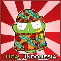 Uga heart Indonesia by supperfrogg