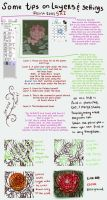 A small tutorial on layers and settings by BlackBirdInk