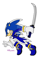 .-Sky the hedgehog-. by Raven-TheCat