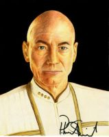 Jean Luc Picard by MikesStarArt
