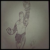 The Green Lantern by kevinbriones