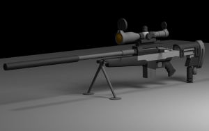 Sniper Rifle by Tadmod